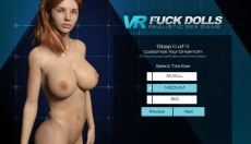 Hardcore 3D FuckDoll game with big titted redhead