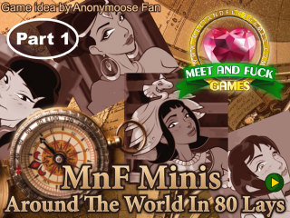 Meet N Fuck Android APK game Arround the World in 80 lays part 1