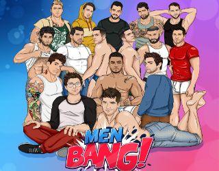 Interact with MenBang's gay femboys